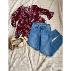 Old Navy Jeans (Super Skinny Mid-Rise)